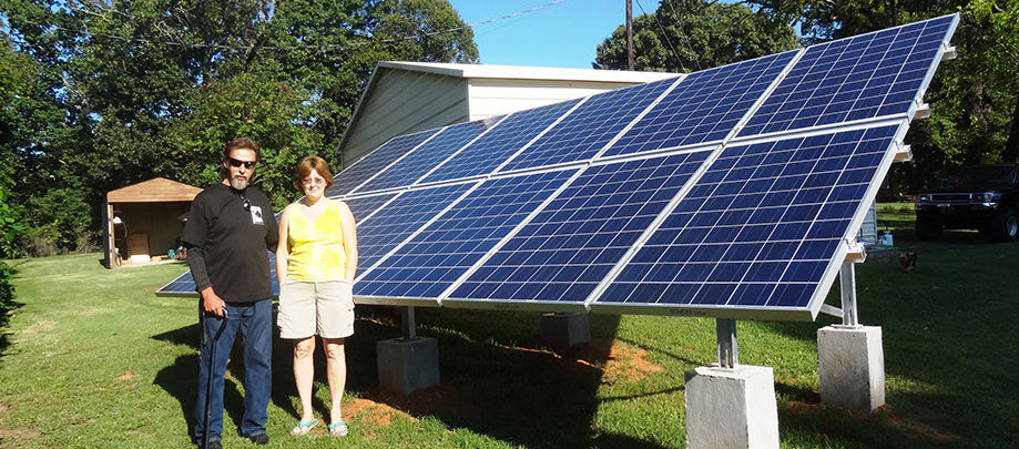 First Solar Home in Eden NC