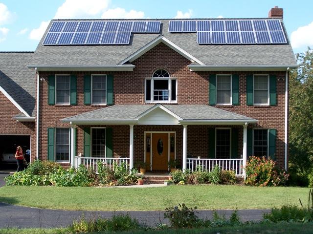First Solar Home in Salem VA