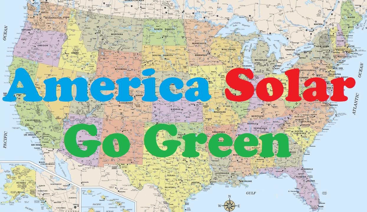 America Solar Go Green