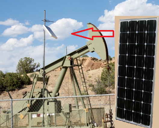 Solar and Oil Pumpstation